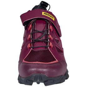 Mavic Echappée Trail Elite Shoes Women fig/hibiscus/black